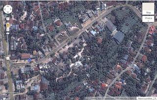 Gambaran Peta Rumah Kost di Jambi Simpang Kawat Jelutung