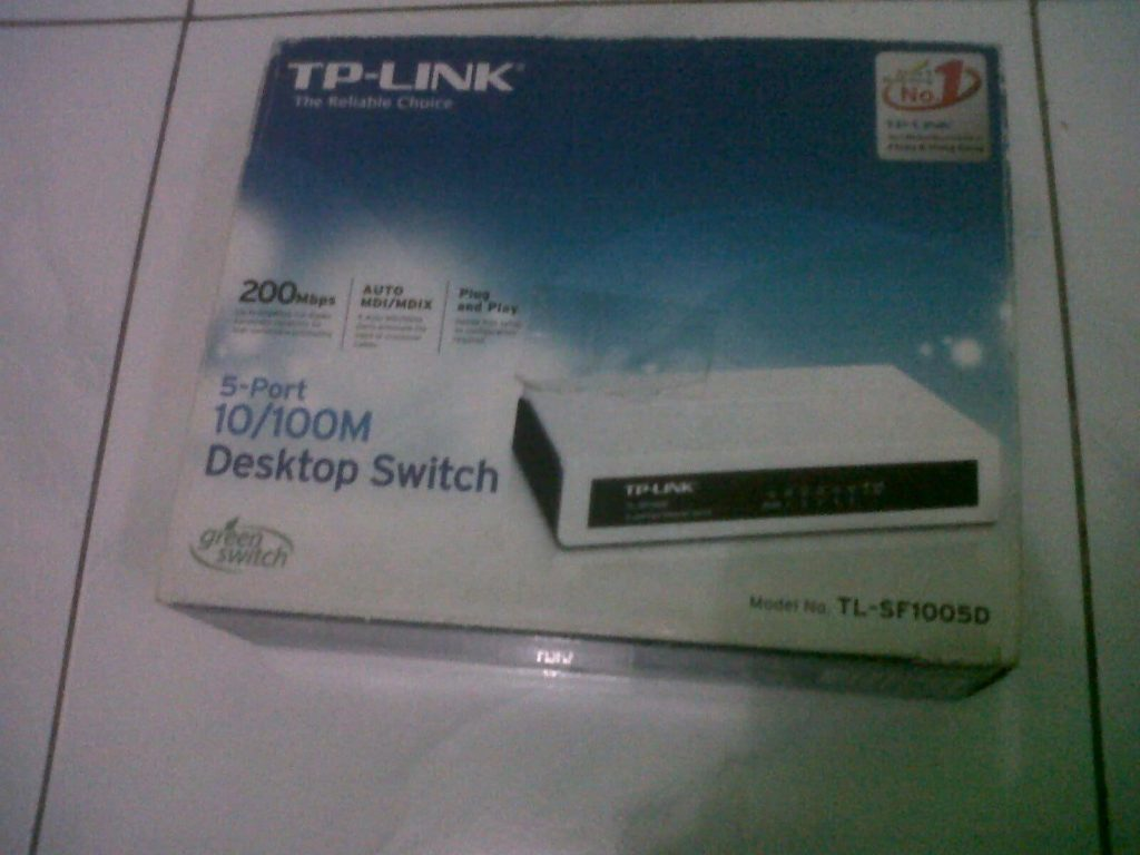 Kotak Switch/hub TP-Link TL-SF1005D