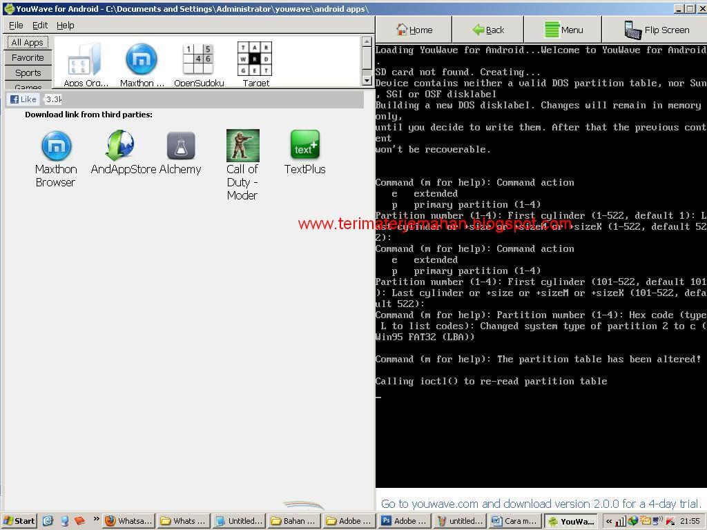Cara Memasang Whatsapp Di Komputer Win XP 7