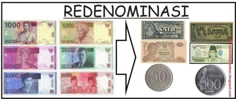 Ilustrasi Redenominasi Mata Uang Rupiah (Rp/IDR)