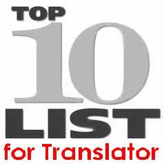 Daftar 10 Situs Yang Sebaiknya Diketahui Oleh Seorang Penerjemah