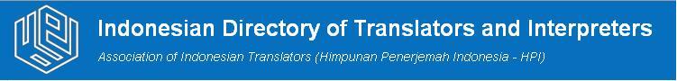 SiHaPeI HPI Direktori Penerjemah Indonesia