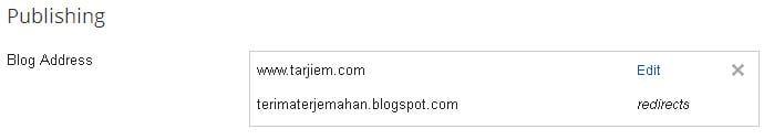 Domain terimaterjemahan dialihkan ke tarjiem.com
