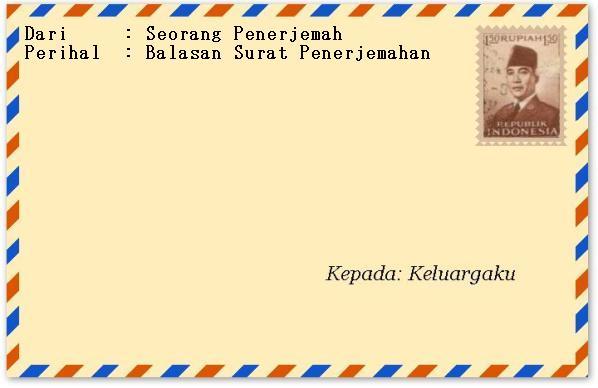Anggap Saja Ini Amplop Suratnya