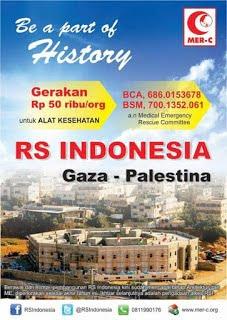 Kabar Palestina, 21 Juni 2013 Batu Rumah sakit Indonesia di Gaza