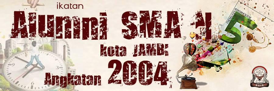 Spanduk Grup Alumni Smunel 2004 Jambi oleh: Yudi S