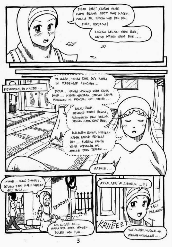 Komik Bergambar: Ketika Kau Jatuh Cinta