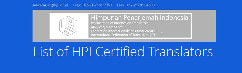 List-of-HPI-Certified-Translators-Himpunan-Penerjemah-Indonesia