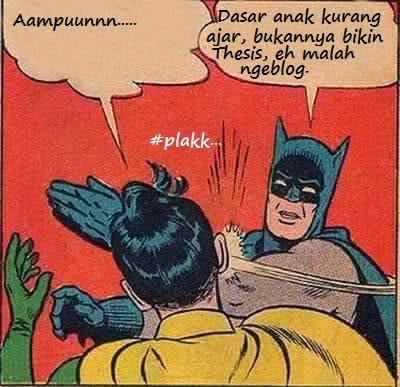 Meme Batman menampar Robin