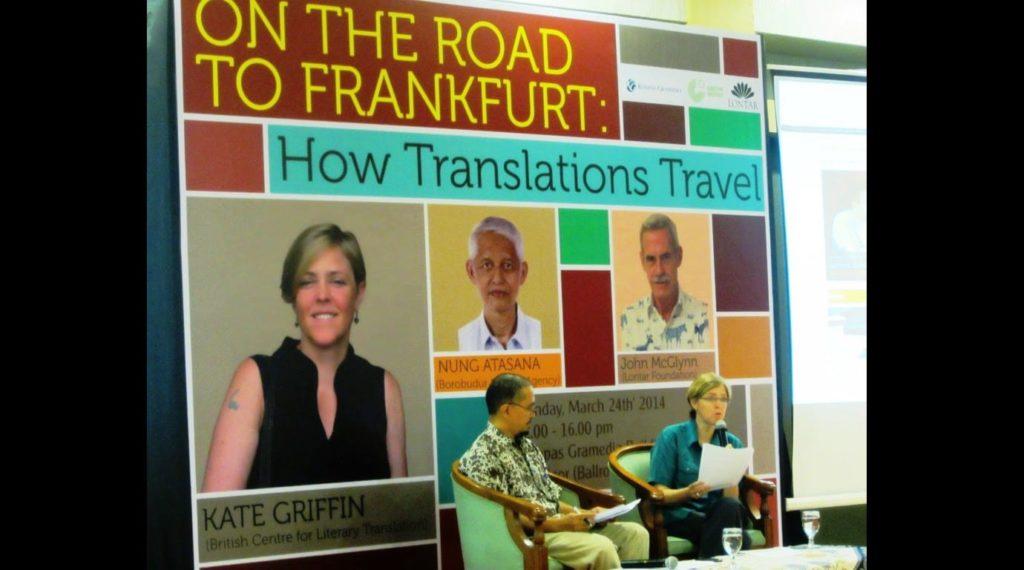 Menuju Penerjemahan Frankfurt Book Fair 2015