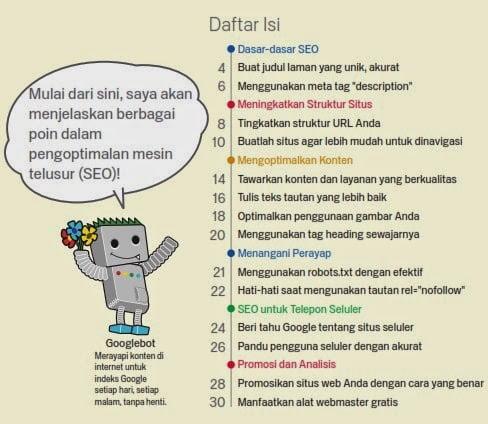 Terjemahan Bahasa Indonesia Buku Panduan SEO dari Google pdf