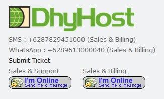 Hosting Tempat Jasa Terjemahan Saya (Testimoni Dhyhost)