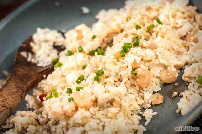 Ilustrasi cara membuat nasi goreng dalam bahasa inggris indonesia image :wikihow.org