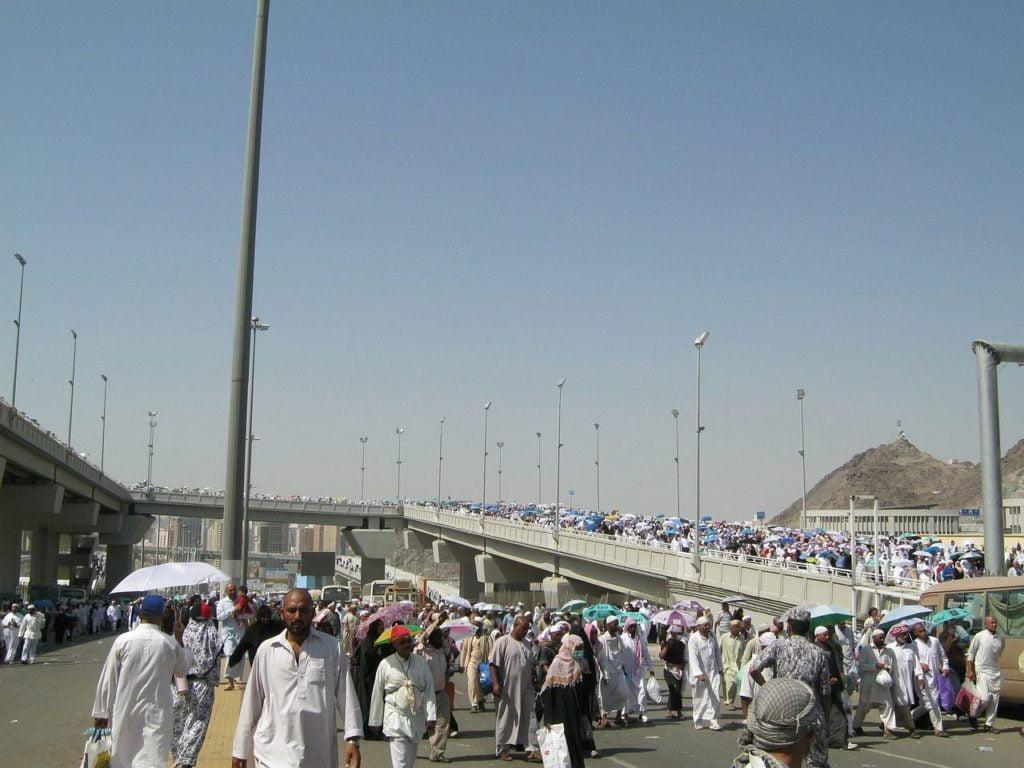 Ilustrasi: Jemaah Haji Mekkah Jalan Kaki