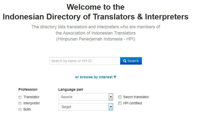 direktori penerjemah indonesia sihapei hpi