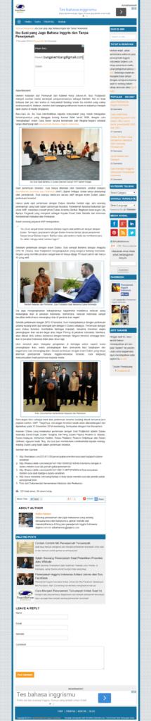 Contoh halaman kiriman tunggal tema nichelite adsensia di tarjiem.com (klik gambar untuk memperbesar)