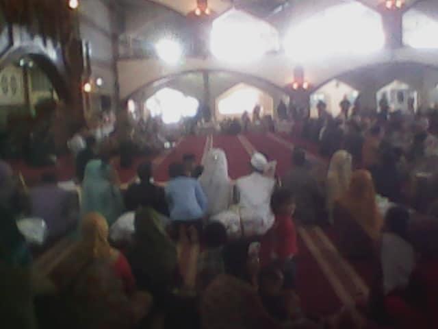 Para peserta pengantin nikah masal