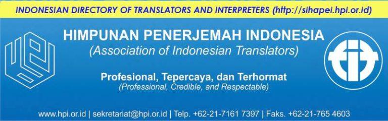 Grup Facebook Himpunan Penerjemah Indonesia (HPI)