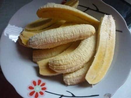Belah pisang jadi dua