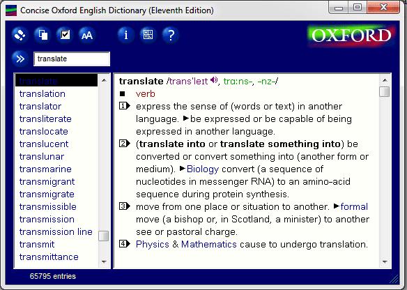 Kamus Bahasa Inggris Oxford