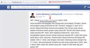 Analisis Bahasa SBY 28 April 2015 sumber dan tanggal