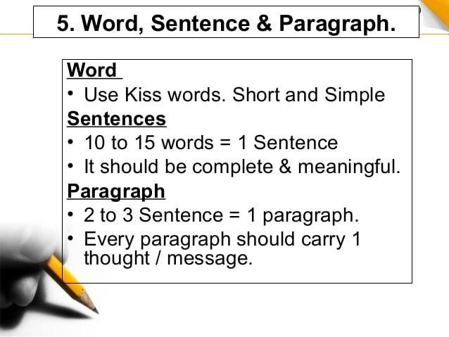 Tiga Kalimat Untuk Tiga Paragraf Bahasa Indonesia