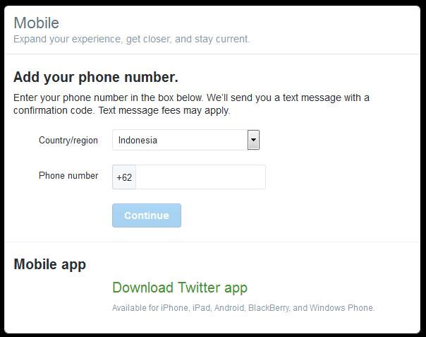 Akhirnya Bisa Verifikasi Nomor Telepon Di Twitter Tarjiem