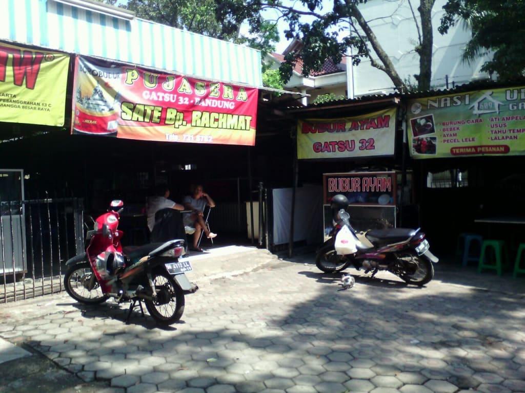 Lokasi Sarapan Bubur Ayam Jl. Gatot-Subroto No. 32 Bandung