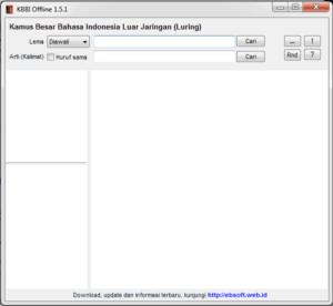 KBBI Offline 1.5.1 ebsoft.web.id
