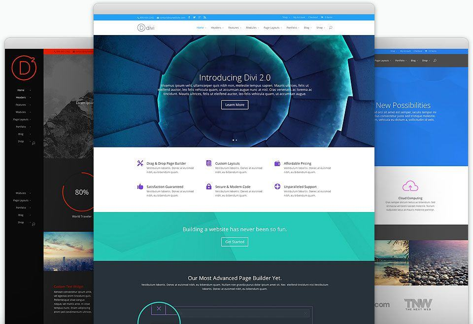 Wordpress Themes Divi Elegantthemes.com
