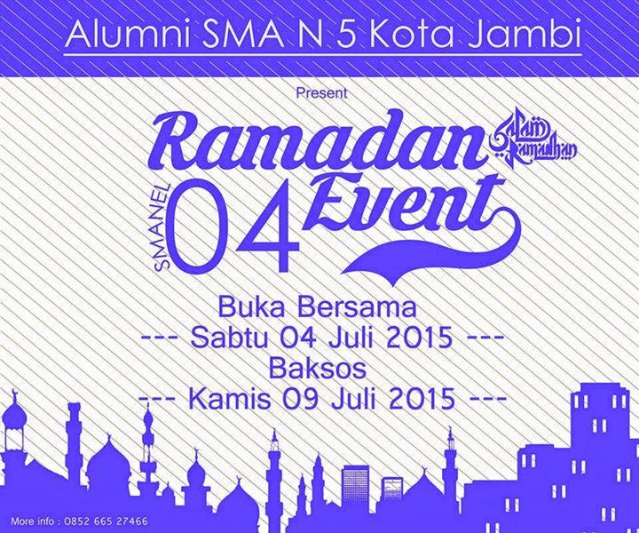 Undangan Buka Bersama 2015 Alumni SMAN 5 Jambi