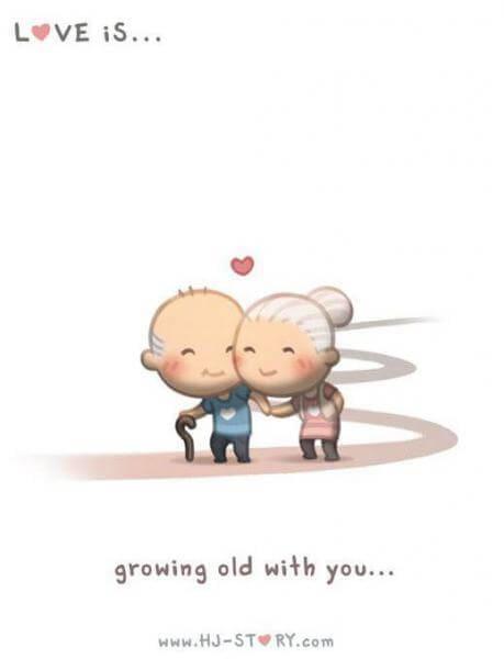 Komik Cinta itu adalah hingga tua-komik cinta bagus