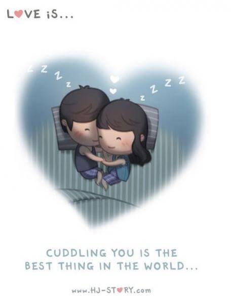 Komik Cinta itu adalah indah-cerita komik cinta