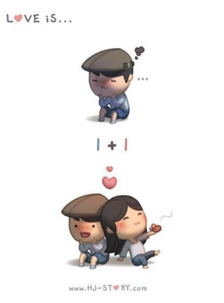 Komik Cinta itu adalah kamu-komik cinta bergambar