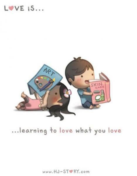 Komik Cinta itu adalah saling pengertian-komik cinta jepang