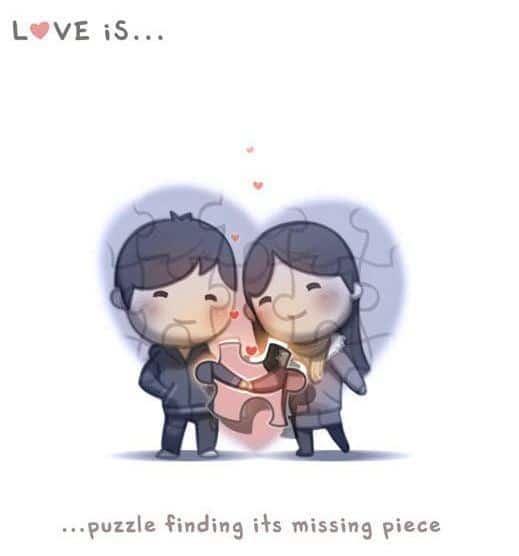 Komik Cinta itu adalah teka-teki-komik cinta online