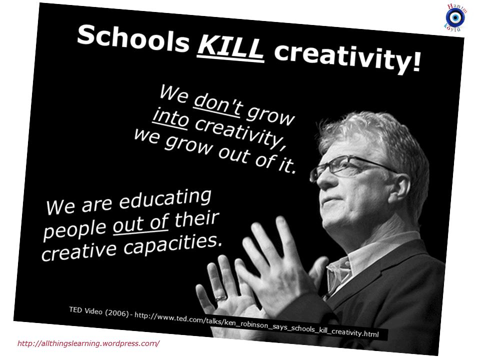 Kutipan kreativitas, sekolah dan lowongan kerja yang Keren