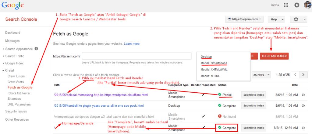 Cara memperbaiki Googlebot tidak dapat mengakses file CSS dan JS.