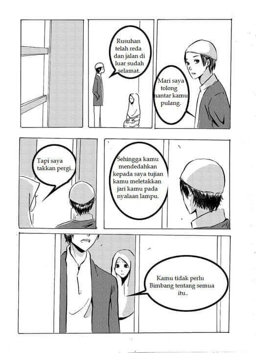 Halaman 10 Komik Percintaan