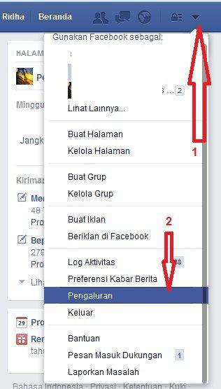Masuk ke Pengaturan Mematikan Autoplay Facebook