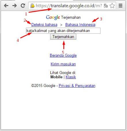 Kamus Bahasa Sunda via Google Translate Mudah