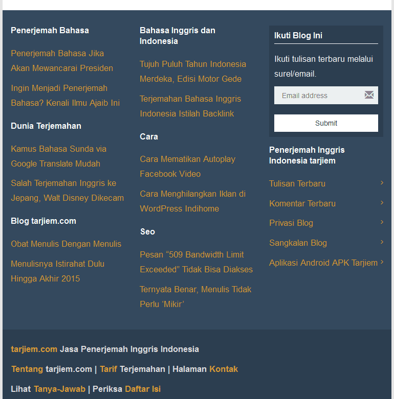 Navigasi Bawah Blog tarjiem Okt 2015