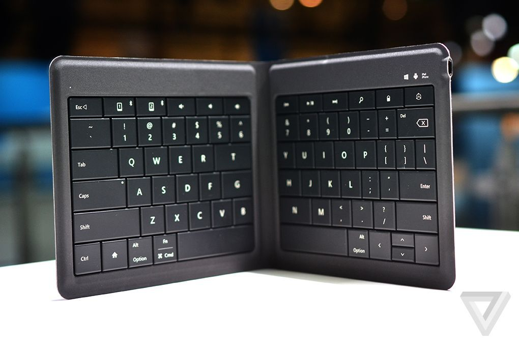 Papan Ketik Lipat Microsoft Foldable Keyboard