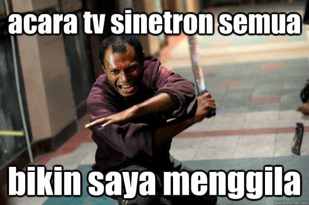 Acara Sinetron Indonesia Bikin Gila, Ciaat...