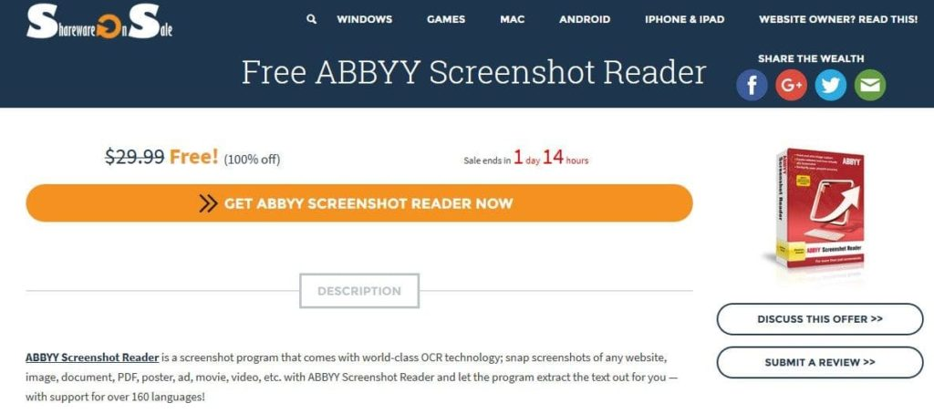 ABBYY Screenshot Reader 90 0 1051