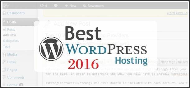 Hosting WordPress Terbaik Dunia 2016