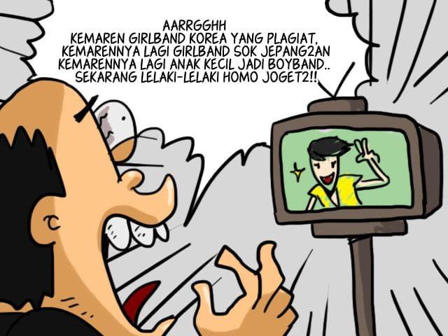 Komik Lucu Ilustrasi Sinetron Indonesia yang Merusak AARRGGHH