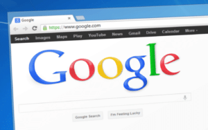 Ilustrasi SEO (Searc Engine Optimization) Google Mesin Pencari