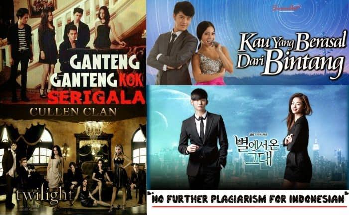 Sinetron Indonesia yang Mirip: Ganteng-Ganteng Serigala dan Kau yang Berasal dari Bintang