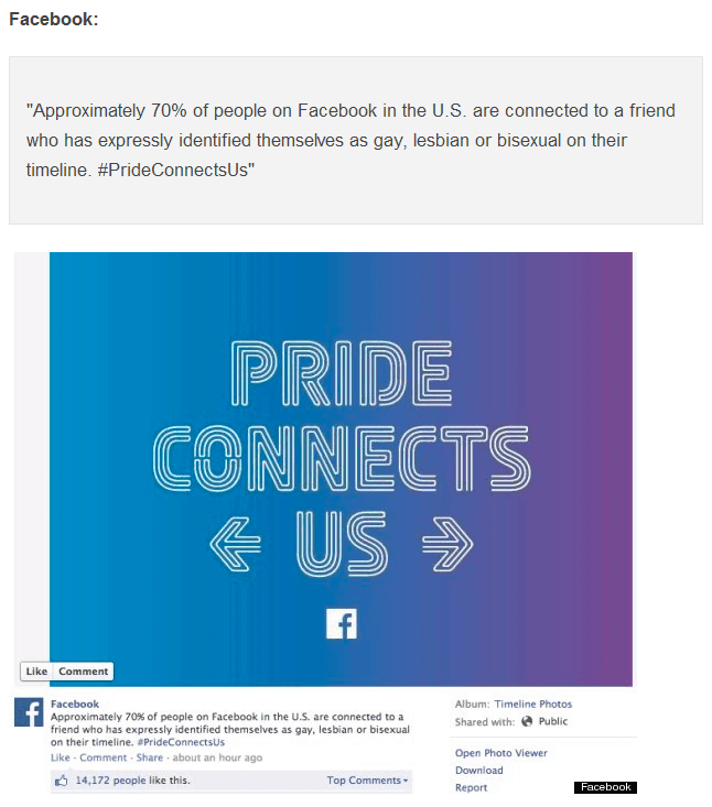 Facebook Mendukung LGBT (huffingtonpost.com)